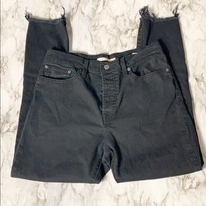 Levi's Distressed Destroyed Wedgie Skinny Size 30